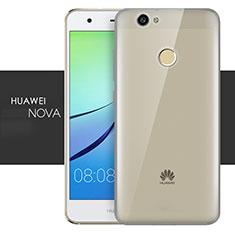 Housse Ultra Fine TPU Souple Transparente T05 pour Huawei Nova Gris