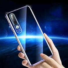 Housse Ultra Fine TPU Souple Transparente T05 pour Huawei P30 Clair