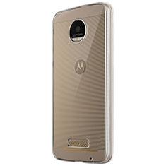 Housse Ultra Fine TPU Souple Transparente T05 pour Motorola Moto Z Play Clair