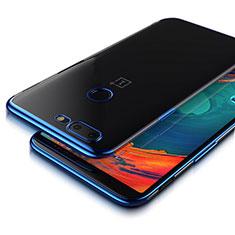 Housse Ultra Fine TPU Souple Transparente T05 pour OnePlus 5T A5010 Bleu