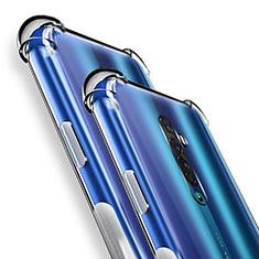 Housse Ultra Fine TPU Souple Transparente T05 pour Oppo Reno2 Clair