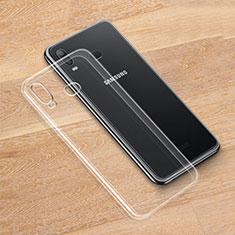 Housse Ultra Fine TPU Souple Transparente T05 pour Samsung Galaxy A6s Clair