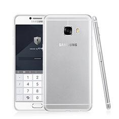Housse Ultra Fine TPU Souple Transparente T05 pour Samsung Galaxy C7 SM-C7000 Clair