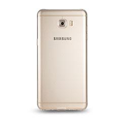 Housse Ultra Fine TPU Souple Transparente T05 pour Samsung Galaxy C9 Pro C9000 Clair
