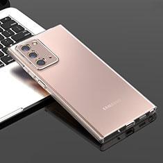Housse Ultra Fine TPU Souple Transparente T05 pour Samsung Galaxy Note 20 5G Clair