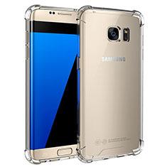 Housse Ultra Fine TPU Souple Transparente T05 pour Samsung Galaxy S7 Edge G935F Clair