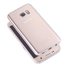 Housse Ultra Fine TPU Souple Transparente T05 pour Samsung Galaxy S7 G930F G930FD Clair