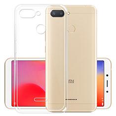 Housse Ultra Fine TPU Souple Transparente T05 pour Xiaomi Redmi 6 Clair