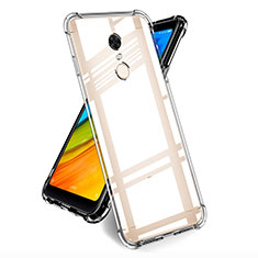 Housse Ultra Fine TPU Souple Transparente T05 pour Xiaomi Redmi Note 5 Indian Version Clair