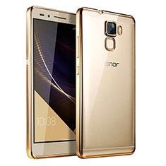 Housse Ultra Fine TPU Souple Transparente T06 pour Huawei Honor 7 Or