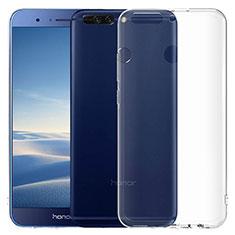 Housse Ultra Fine TPU Souple Transparente T06 pour Huawei Honor V9 Clair