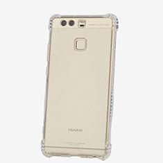 Housse Ultra Fine TPU Souple Transparente T06 pour Huawei P9 Plus Clair