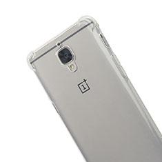 Housse Ultra Fine TPU Souple Transparente T06 pour OnePlus 3 Gris