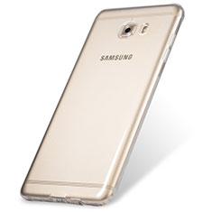 Housse Ultra Fine TPU Souple Transparente T06 pour Samsung Galaxy C9 Pro C9000 Clair