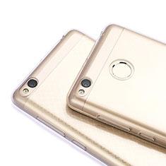 Housse Ultra Fine TPU Souple Transparente T06 pour Xiaomi Redmi 3S Gris