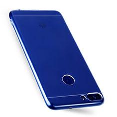 Housse Ultra Fine TPU Souple Transparente T07 pour Huawei Enjoy 7S Clair
