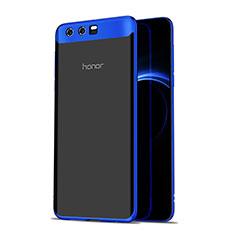 Housse Ultra Fine TPU Souple Transparente T07 pour Huawei Honor 9 Premium Bleu