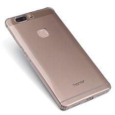Housse Ultra Fine TPU Souple Transparente T07 pour Huawei Honor V8 Gris