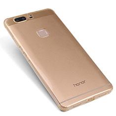 Housse Ultra Fine TPU Souple Transparente T07 pour Huawei Honor V8 Or