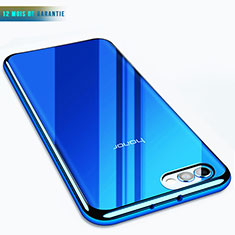 Housse Ultra Fine TPU Souple Transparente T07 pour Huawei Honor View 10 Bleu