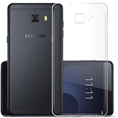Housse Ultra Fine TPU Souple Transparente T07 pour Samsung Galaxy C7 Pro C7010 Clair