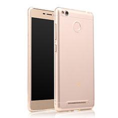 Housse Ultra Fine TPU Souple Transparente T07 pour Xiaomi Redmi 3 High Edition Clair