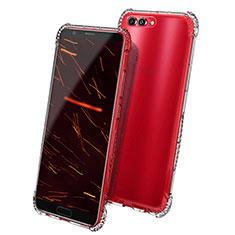 Housse Ultra Fine TPU Souple Transparente T08 pour Huawei Honor V10 Clair