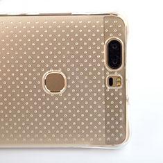 Housse Ultra Fine TPU Souple Transparente T08 pour Huawei Honor V8 Clair