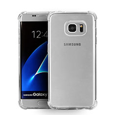 Housse Ultra Fine TPU Souple Transparente T08 pour Samsung Galaxy S7 Edge G935F Clair