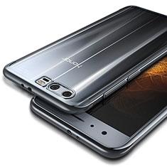 Housse Ultra Fine TPU Souple Transparente T09 pour Huawei Honor 9 Premium Argent