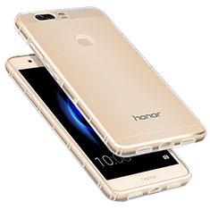 Housse Ultra Fine TPU Souple Transparente T09 pour Huawei Honor V8 Clair