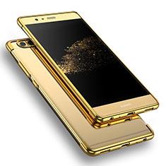 Housse Ultra Fine TPU Souple Transparente T09 pour Huawei P9 Or