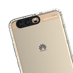 Housse Ultra Fine TPU Souple Transparente T14 pour Huawei P10 Plus Clair