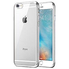 Housse Ultra Fine TPU Souple Transparente T21 pour Apple iPhone 8 Argent