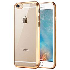 Housse Ultra Fine TPU Souple Transparente T21 pour Apple iPhone 8 Or