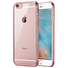 Housse Ultra Fine TPU Souple Transparente T21 pour Apple iPhone 8 Or Rose
