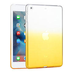 Housse Ultra Fine Transparente Souple Degrade pour Apple iPad Mini 3 Jaune