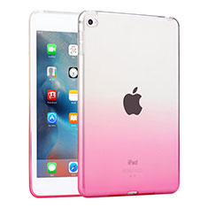 Housse Ultra Fine Transparente Souple Degrade pour Apple iPad Mini 4 Rose