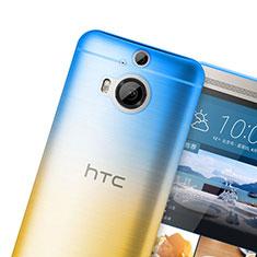 Housse Ultra Fine Transparente Souple Degrade pour HTC One M9 Plus Orange