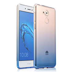 Housse Ultra Fine Transparente Souple Degrade pour Huawei Enjoy 6S Bleu