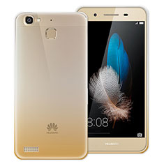 Housse Ultra Fine Transparente Souple Degrade pour Huawei G8 Mini Or