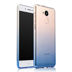 Housse Ultra Fine Transparente Souple Degrade pour Huawei Honor 6A Bleu