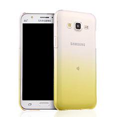 Housse Ultra Fine Transparente Souple Degrade pour Samsung Galaxy J5 SM-J500F Jaune