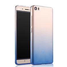 Housse Ultra Fine Transparente Souple Degrade pour Xiaomi Mi 5 Bleu