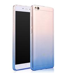 Housse Ultra Fine Transparente Souple Degrade pour Xiaomi Mi 5C Bleu