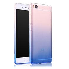 Housse Ultra Fine Transparente Souple Degrade pour Xiaomi Mi 5S Bleu