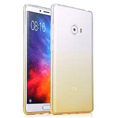 Housse Ultra Fine Transparente Souple Degrade pour Xiaomi Mi Note 2 Jaune