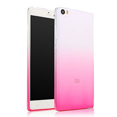 Housse Ultra Fine Transparente Souple Degrade pour Xiaomi Mi Note Rose