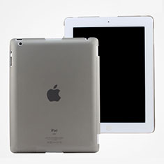 Housse Ultra Slim Mat Rigide Transparente pour Apple iPad 2 Gris