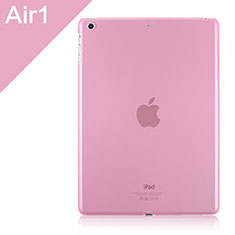 Housse Ultra Slim Mat Rigide Transparente pour Apple iPad Air Rose